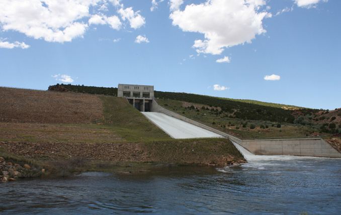 Alcova Dam And Reservoir Wyohistory Org