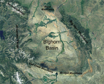The Bighorn Basin: Wyoming\'s Bony Back Pocket | WyoHistory.org