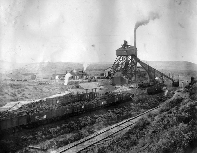 The Coal Business In Wyoming Wyohistory Org