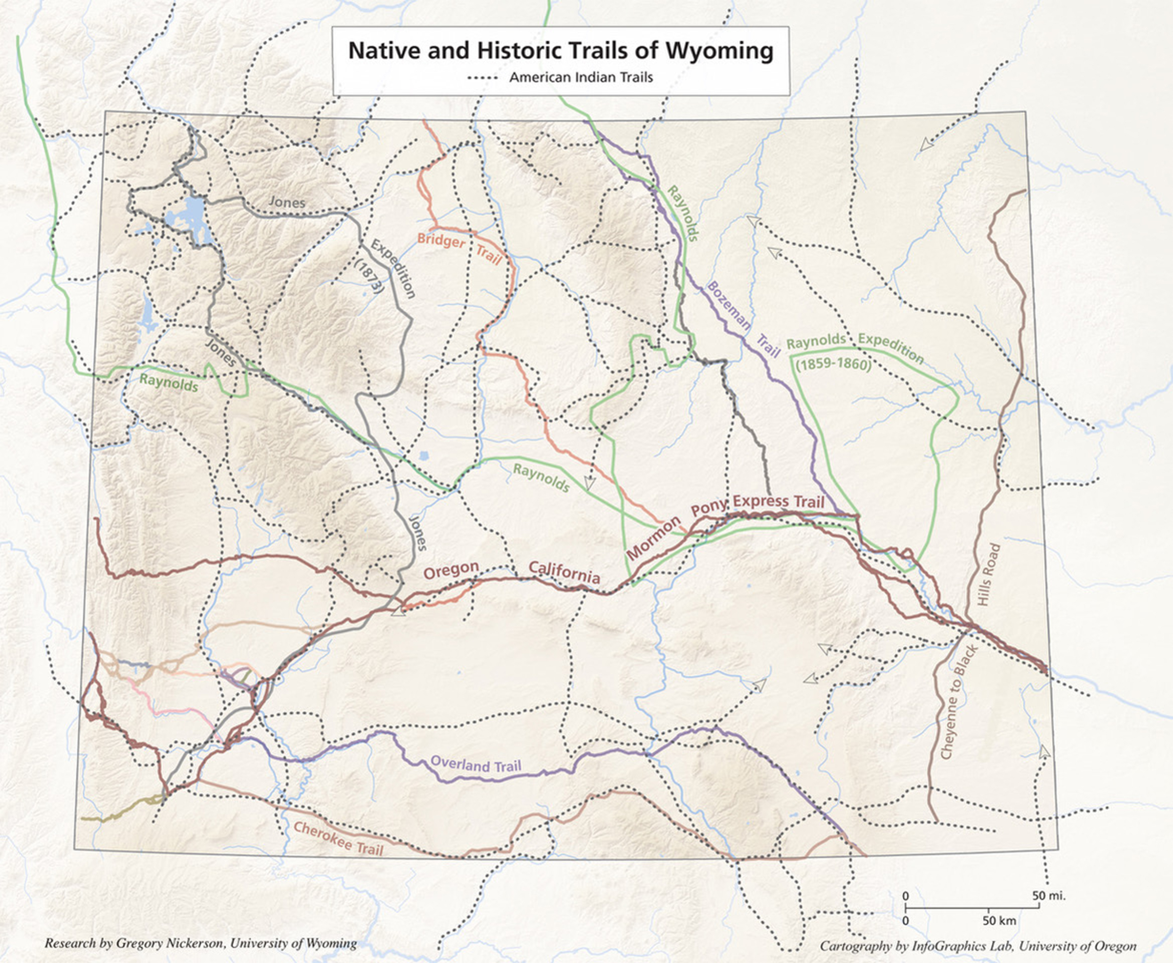 Before Wyoming: American Indian Geography and Trails