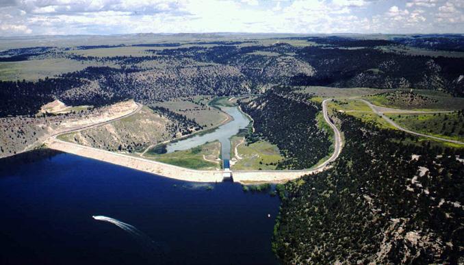 History Of Glendo Dam Wyohistory Org