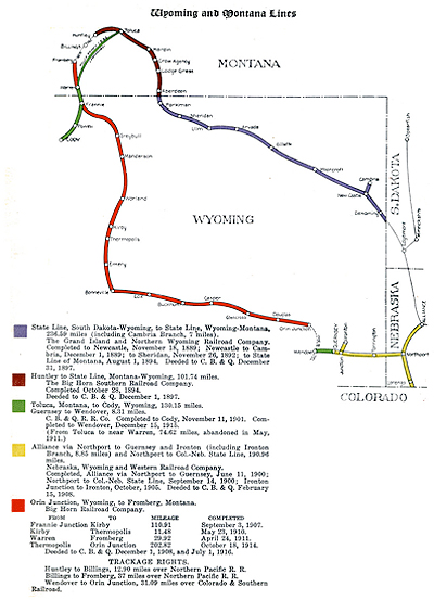 The Burlington Route: Wyoming's Second Transcontinental