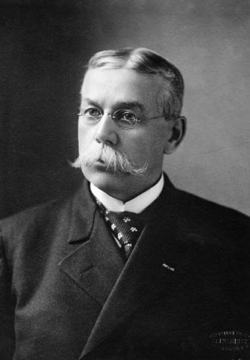 Territorial governor Francis E. Warren understood the Constitutional delegates would have to work quickly. (WSA photo)