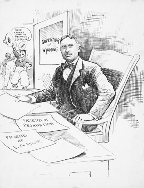 Kendrick Championed Progressive Causes When He Was Elected Governor In 1914 American Heritage Center
