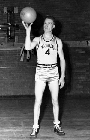 Five-feet-10-inch Kenny Sailors was 19 in 1943. UW photo services.