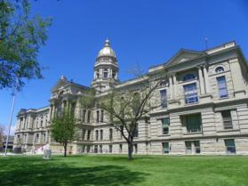 Wyoming State Capitol, Cheyenne. J. Stephen Conn photo.