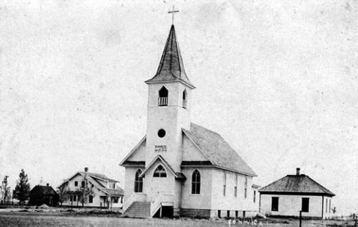The Lutheran Church in Burns, formerly Luther, Wyo. Wyoming Tales and Trails.