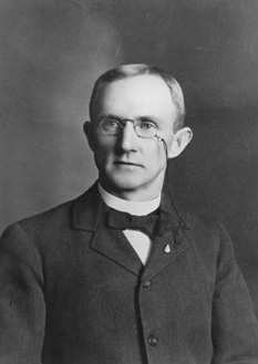 Elwood Mead was hired as Wyoming's territorial engineer at age 30. (WSA Sub Neg #2463)