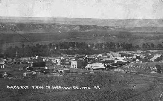 Meeteetse, 1897. Wyoming State Archives.