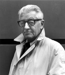 Wallace Stegner in the 1960s. Google Images.