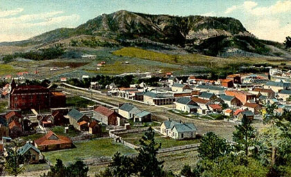 Sundance, Wyo. 1902. Crook County Museum and Art Gallery.