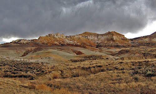 Badlands Wyoming Map.Washakie County Wyoming Wyohistory Org