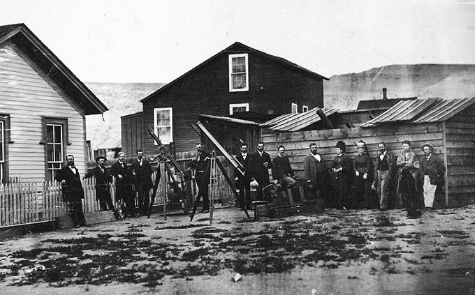 Edison, the Light Bulb and the Eclipse of 1878 | WyoHistory.org