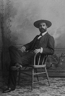 Owen Wister in Yellowstone Park, 1890s. American Heritage Center.