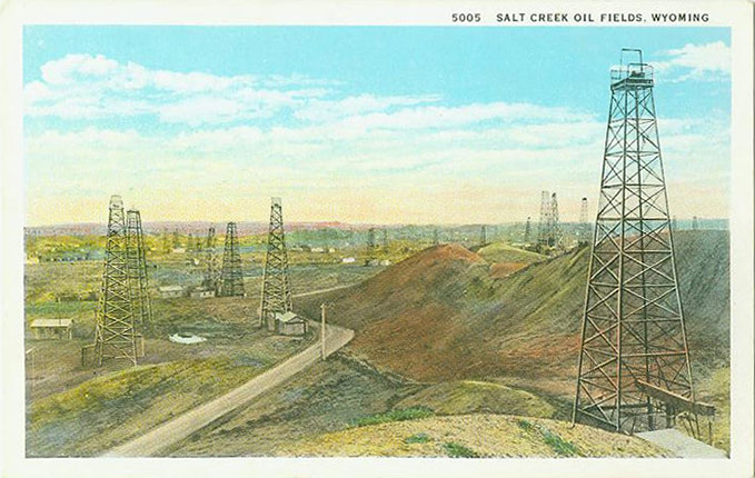 Boom Bust And After Life In The Salt Creek Oil Field