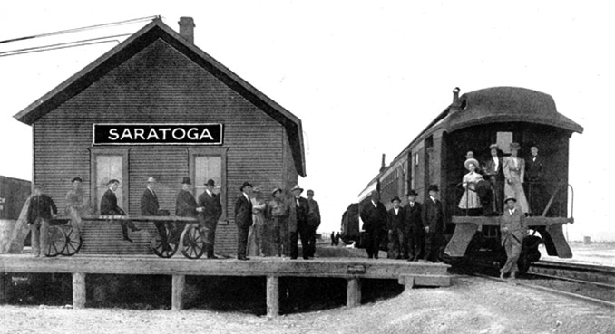 The Saratoga and Encampment Valley Railroad | WyoHistory org