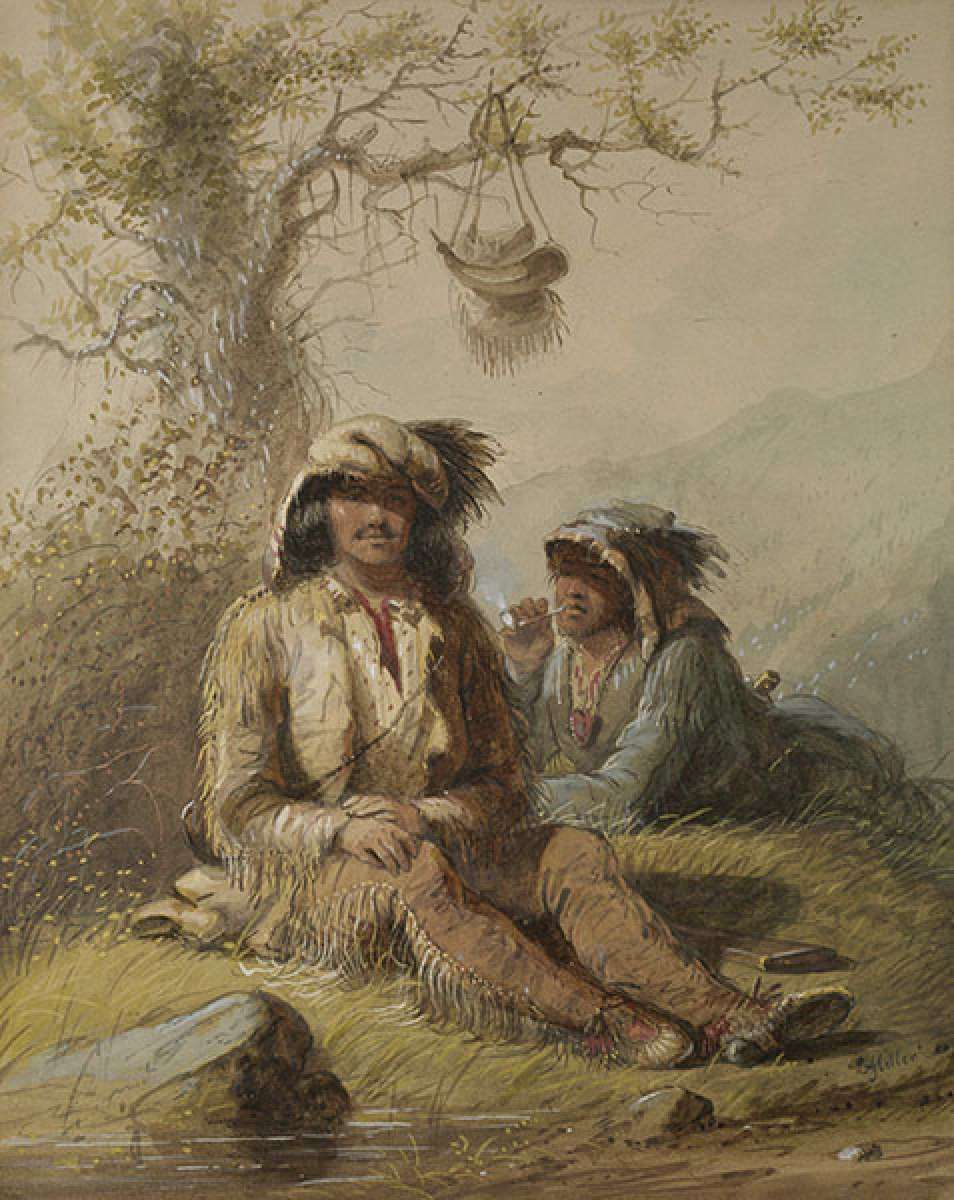 An Artist And The Fur Trade The Wyoming Paintings Of