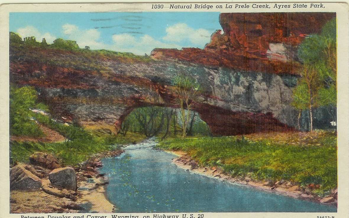 Ayres Natural Bridge Park Douglas Wy