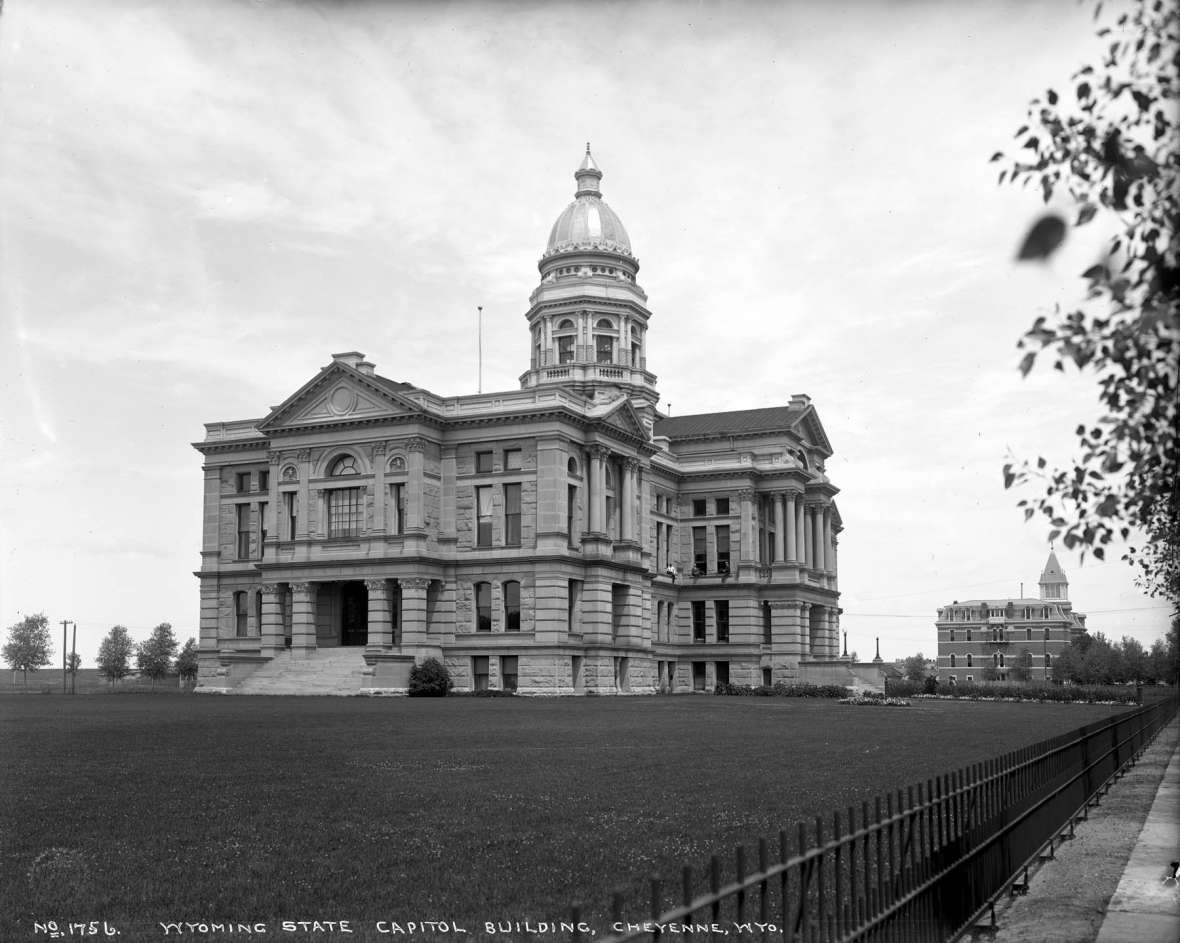 A History of the Wyoming Capitol | WyoHistory org