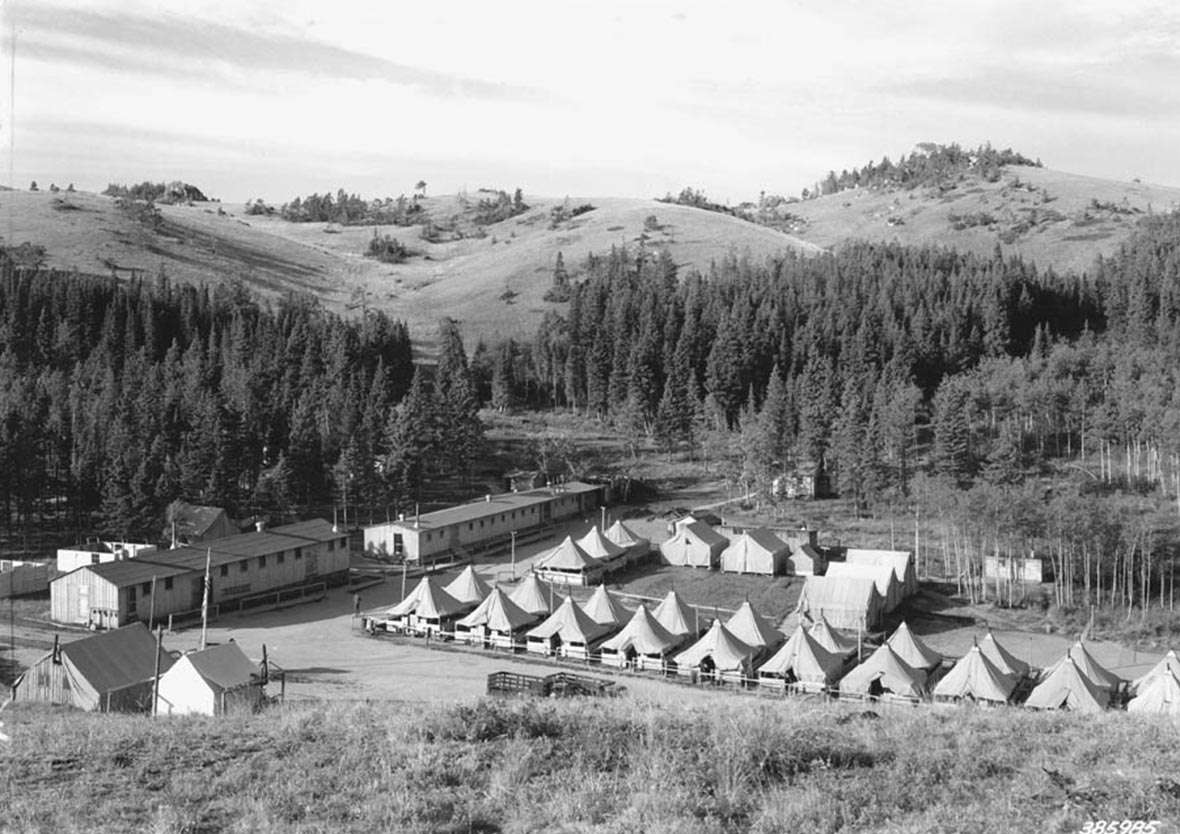 Hard Times And Conservation The Ccc In Wyoming
