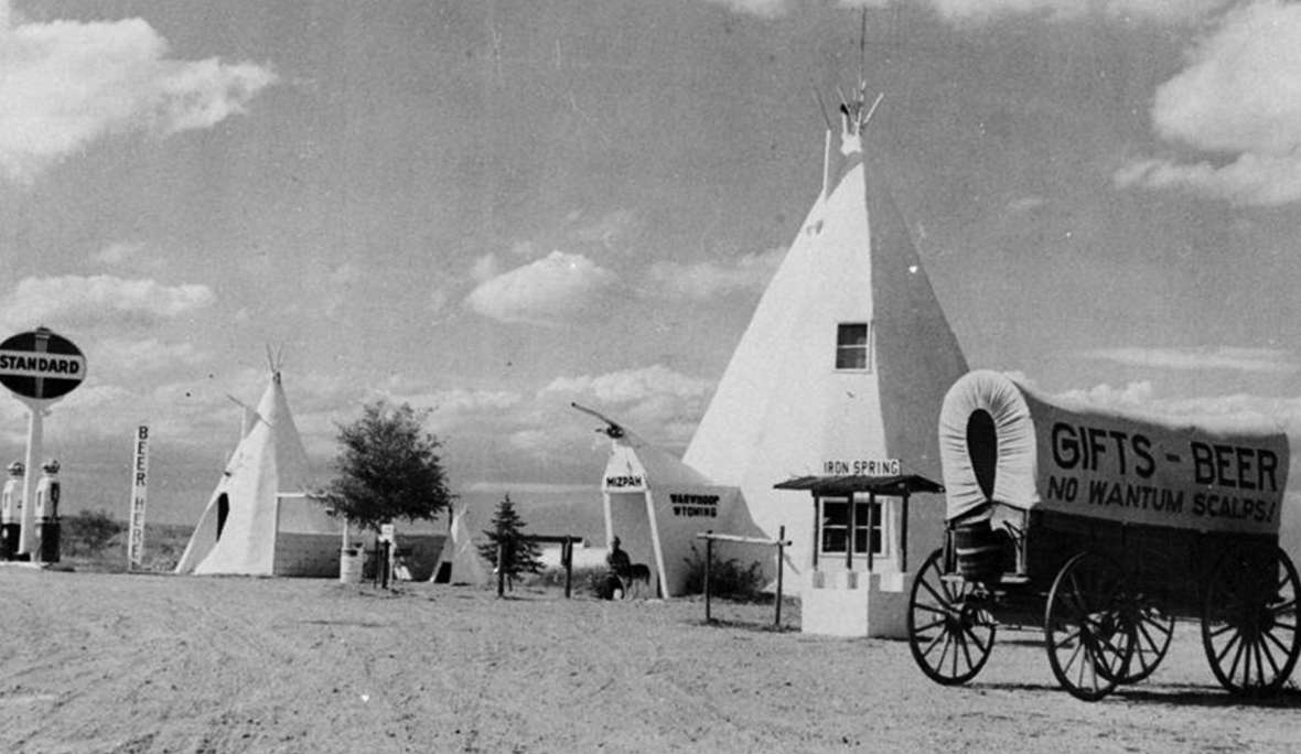 By the 1930s many tourist attractions including the Warwhoop with its racially insensitive covered wagon near Egbert, Wyo., east of Cheyenne, had sprung up along the route.