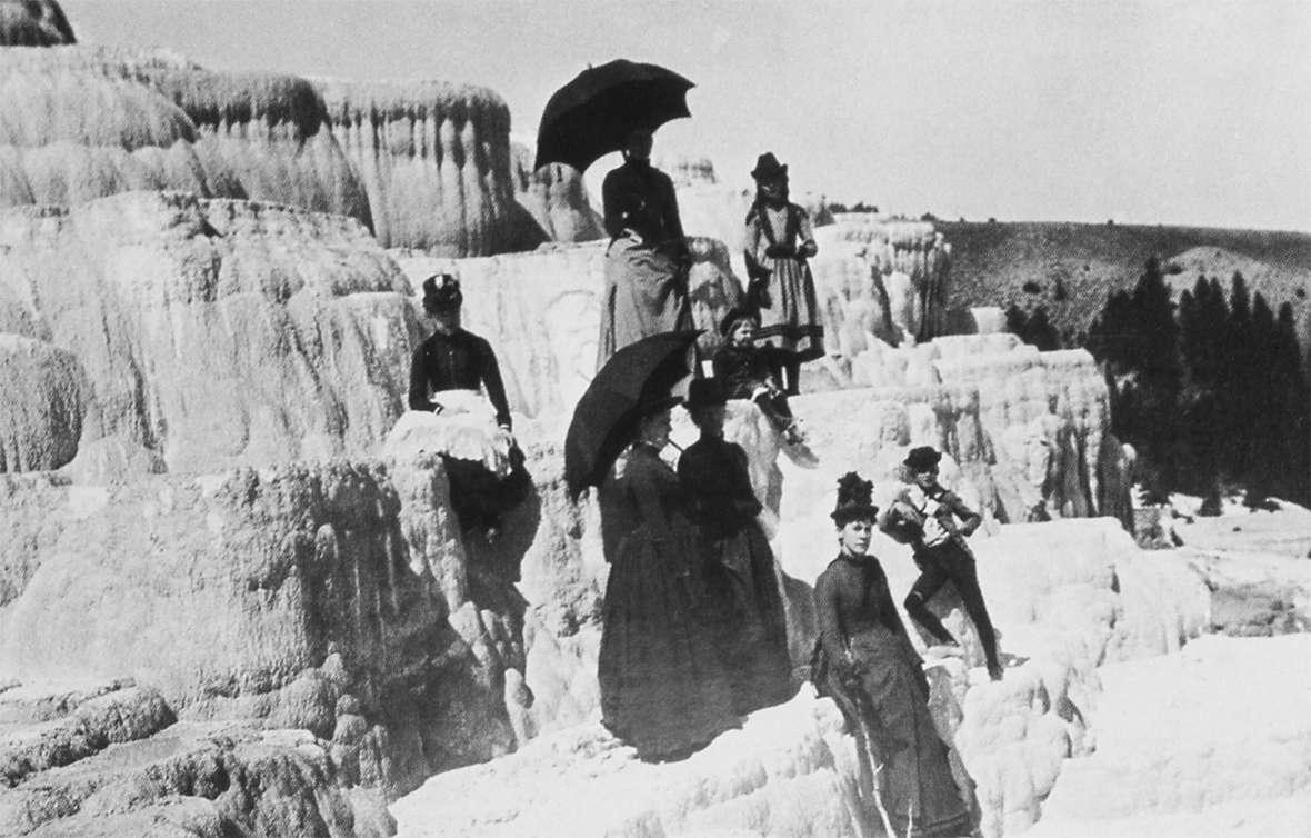 John Muir in Yellowstone | WyoHistory.org First Photographs Of Yellowstone