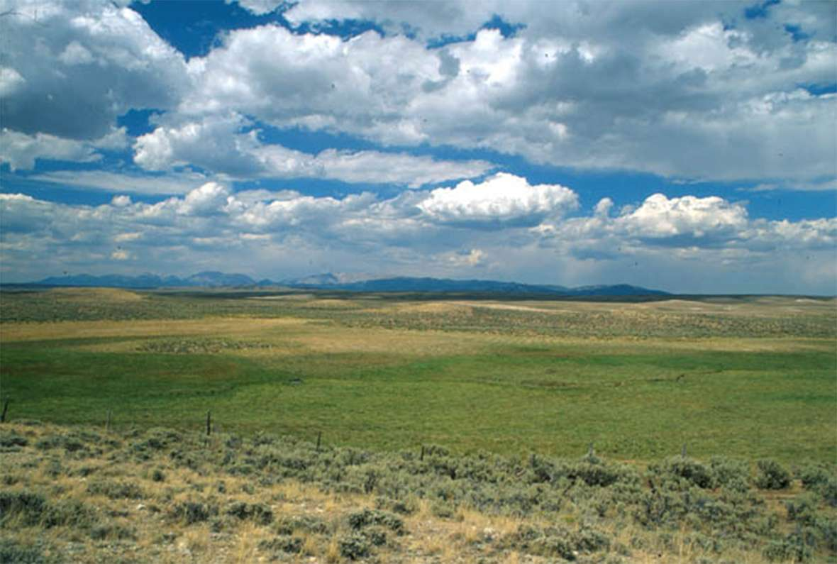 pacific springs wyohistory org shown here are the springs and the wind river mountains beyond wyoming shpo