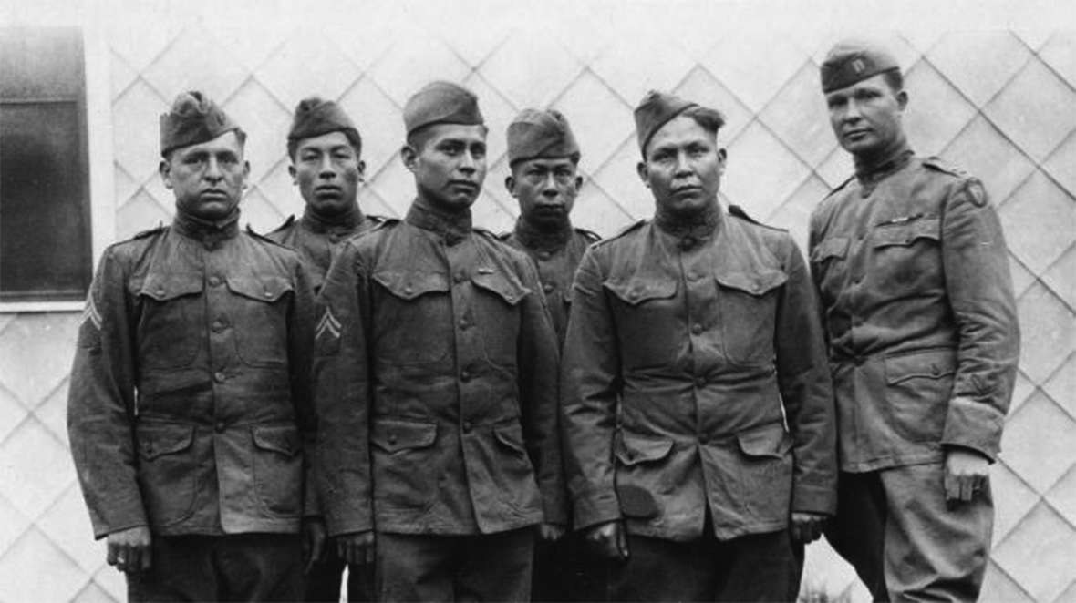 Choctaw code talkers, World War I. The History Channel.