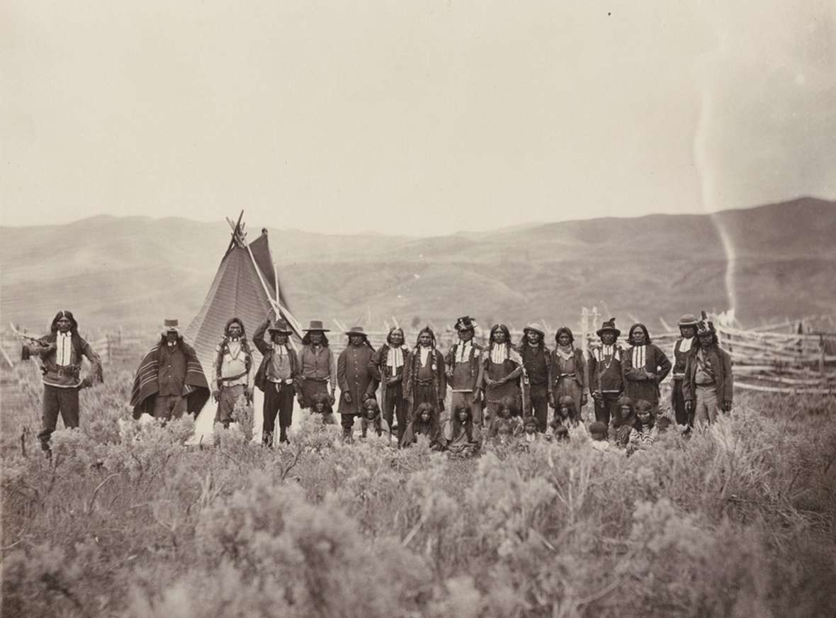 shoshone treaty Identify examples of material and symbolic culture in both shoshone and  us  signed the treaty of ruby valley where the western shoshone allowed white.