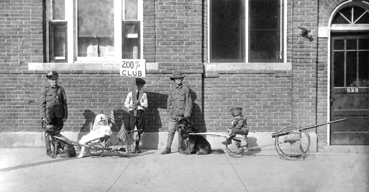 Life on the Home Front: Wyoming During World War I
