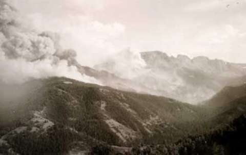 The Deadly Blackwater Fire   WyoHistory org