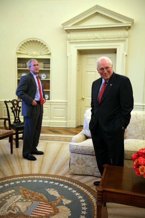 Apologise, can cheney dick president us vice