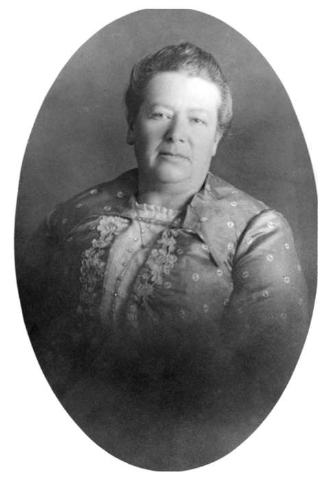 Minnie Fenwick served five years as president of the Wyoming chapter of the Women's Christian Temperance Union after decades as an activist in the organization. Wyoming State Archives.