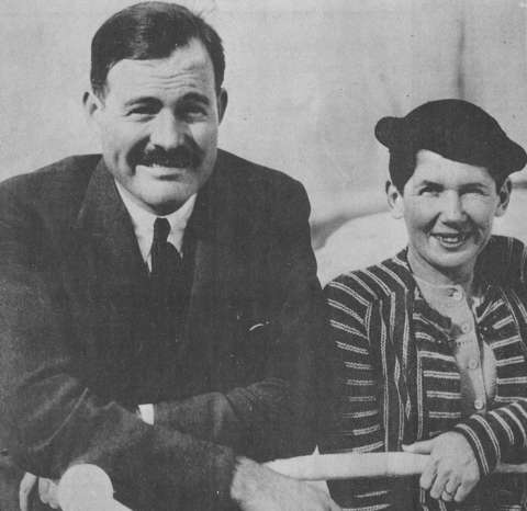Ernest and Pauline en route from Europe to Wyoming, 1934. Casper College Western History Center.