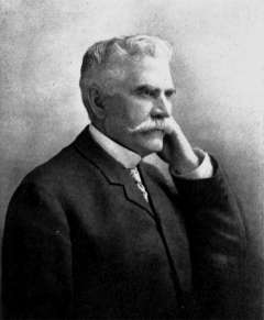 James McLaughlin, who had negotiated the government's purchase of 64,000 acres and the Big Horn hot springs in 1896, returned to Wind River in 1904 to negotiate the sale by the tribes of 1.5 million more acres, most of them north of the Big Wind River. Wikipedia.