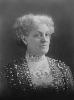 Political organizer Carrie Chapman Catt, president of the National American Woman's Suffrage Association, met late in 1919 in Laramie with a committee of Wyoming suffragists as part of a final, nationwide lobbying effort for the amendment. Wikipedia.