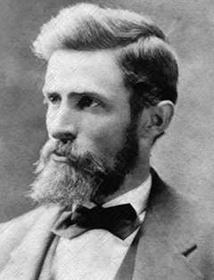 Legh Freeman, shown here, and his brother Fred edited and published the Frontier Index across the future Wyoming Territory in 1868. Glendale, Montana.