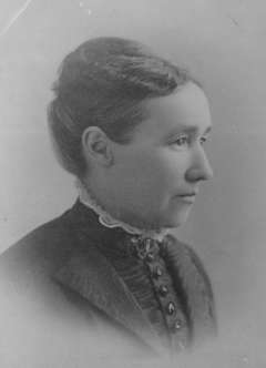 In 1870, Sarah Pease of Laramie was one of the first six women to serve on a jury in Wyoming Territory. Courts briefly allowed the practice that year and the next. American Heritage Center.