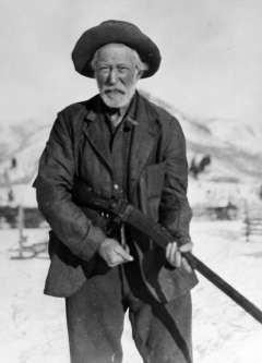 Blll Manning, shown here around 1920, led the posse that first confronted the Bannock party south of Jackson Hole 25 years earlier. Jackson Hole Historical Society and Museum.