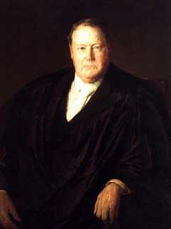 U.S. Supreme Court Justice Edward Douglass White wrote the majority opinion agreeing with Wyoming's position—that the Bannock treaty-based hunting right was 'temporary and precarious' and 'essentially perishable.' Wikimedia Commons.