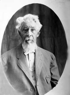 Archie Stepp, who was born into slavery in Kentucky in 1835. He and his wife, Anne, followed their son Alonzo to Wyoming in 1898. Stepp family photos.