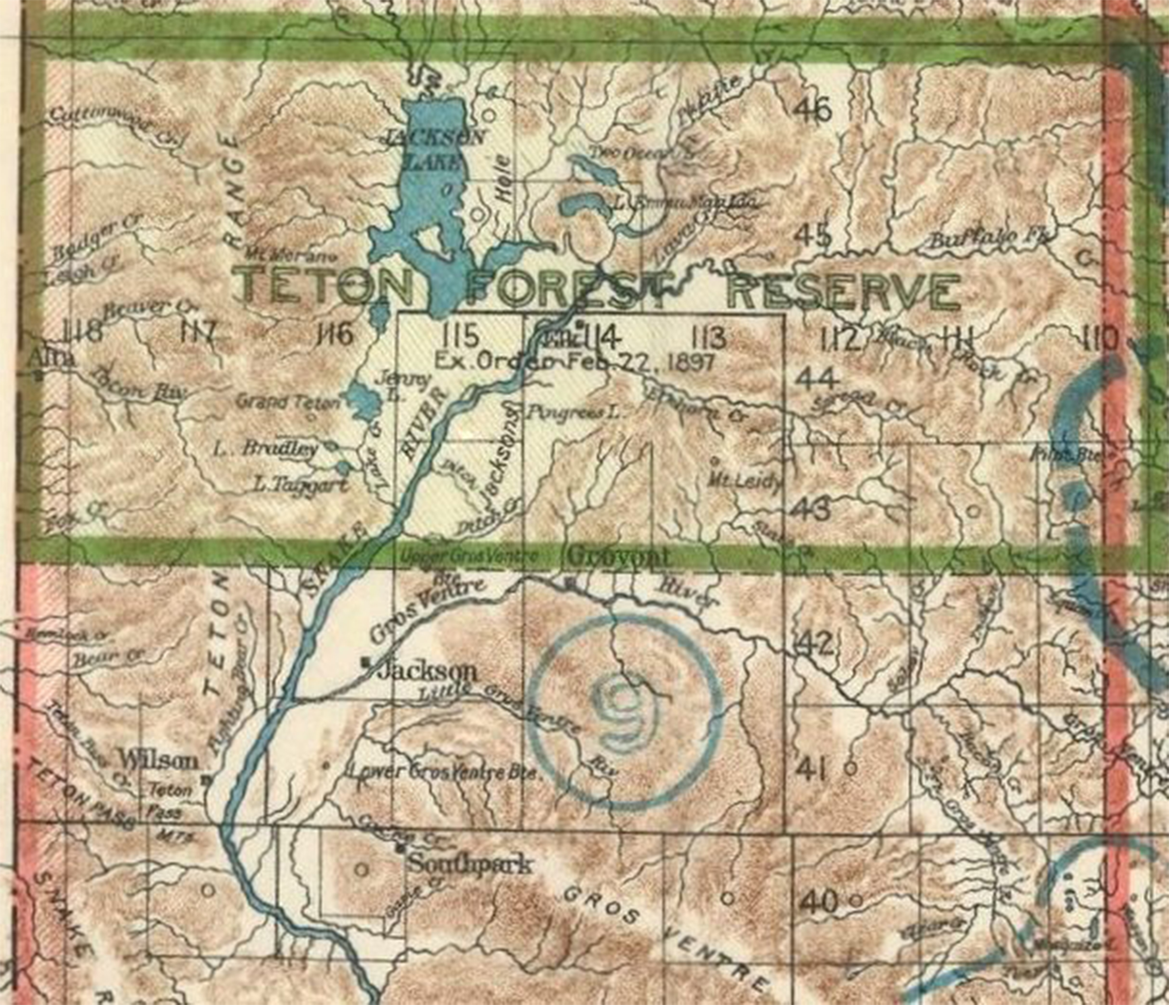 Yellowstone Park, Arnold Hague and the Birth of National Forests ...